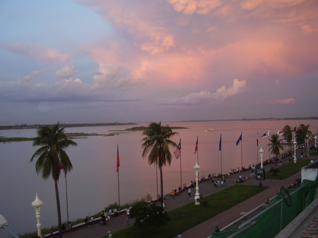 Tonle Sap and the Quay, Phnom Penh