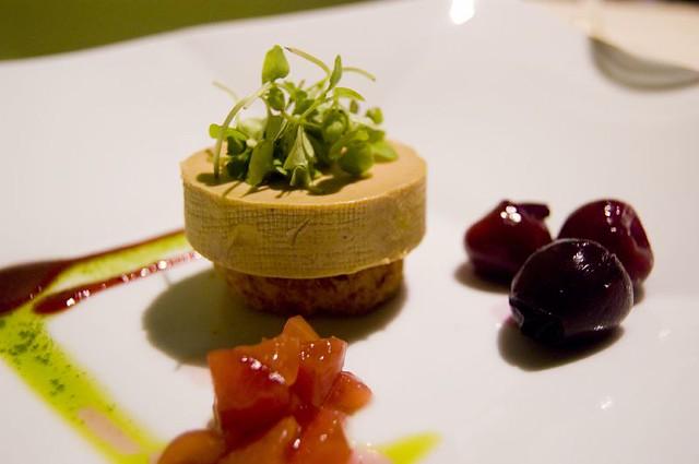 1st course torchon of foie gras torchon of foie gras on. Black Bedroom Furniture Sets. Home Design Ideas