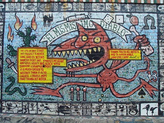 Mural: El Mismisimo Diablo