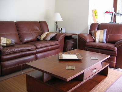 Living Room Table  on Boy Living Room Set Leather Reclining Couch And Chair Coffee Table