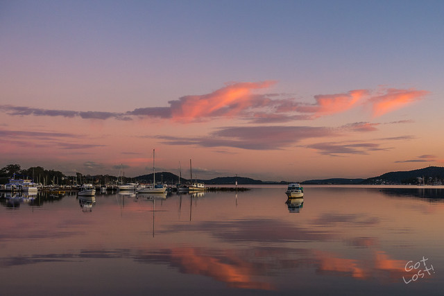 Gosford Waterfront Sunset
