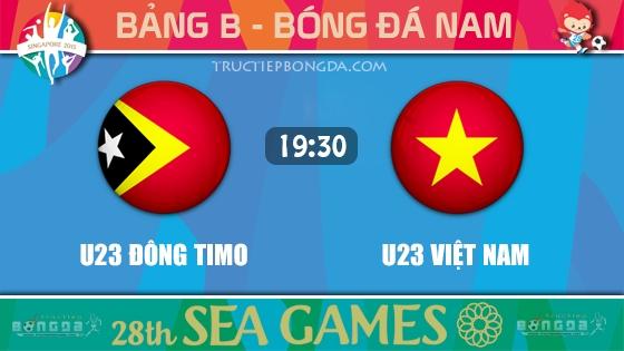 U23 Đông Timo vs U23 Việt Nam