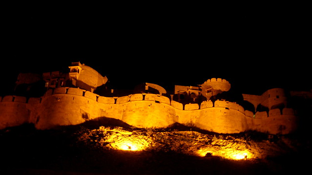 Jaisalmer Fort view at Night