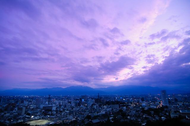 Kofu 愛宕山中腹