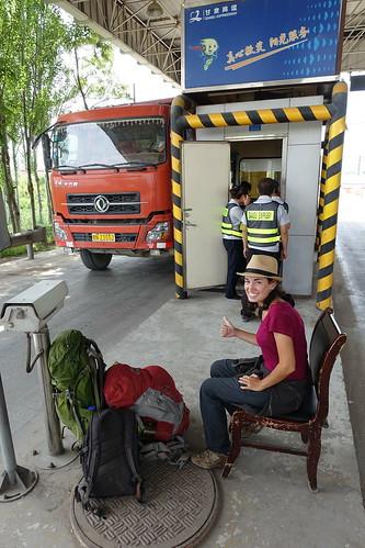 L'auto stop en Chine