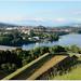 Vista de Túy (Pontevedra) desde Valença do Minho (Portugal)