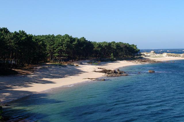 Playa Area da Secada - Illa de Arousa
