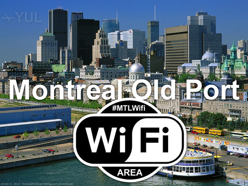 Open Wi-Fi area #MTLWifi (YUL)
