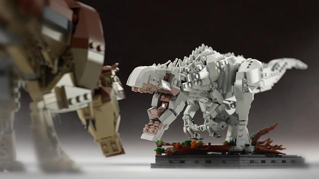 LEGO® IDEAS【帝王暴龍】Indominus Rex 變種恐龍需要各位的支持!!