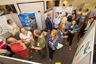 A Lively Student Poster Session