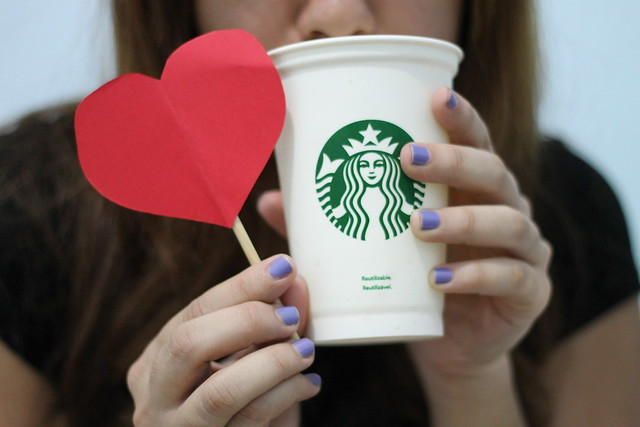 #100 Happy Days: (15) Starbucks :heart: