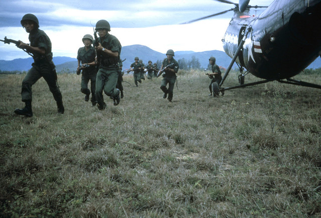 Vietnam War 1962 - by Dickey Chapelle (1919-1965)