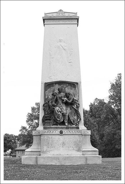 Confederate Monument In Forest Park 1