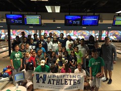 Notre Dame Bowling Event 2015