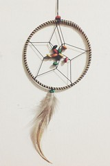 dream catcher (from my sister, from the beautiful island of palawan, philippines)