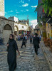 A street in the old city of Jerusalem, Israeal by Lena and Igor