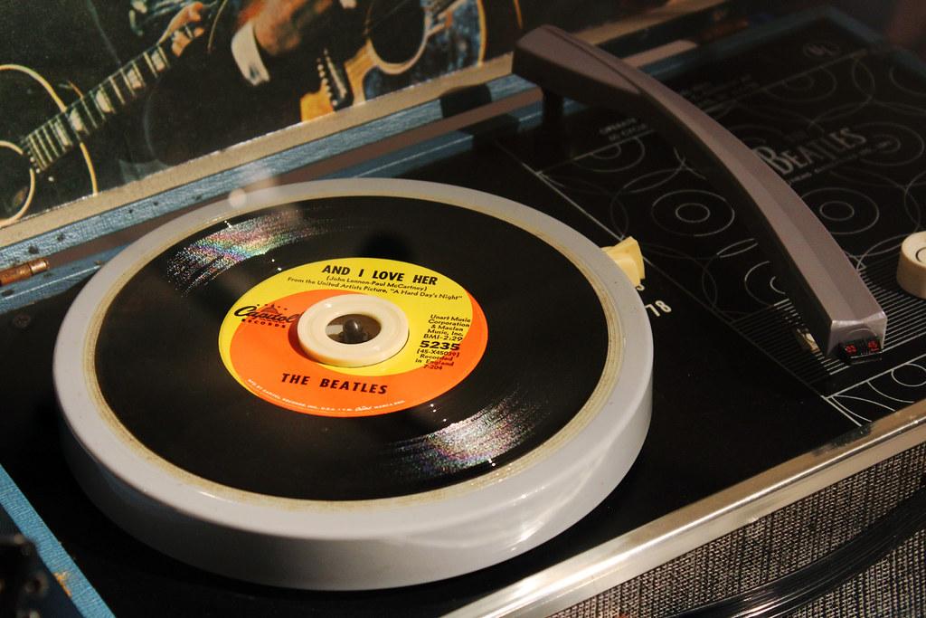 Tocadiscos de The Beatles