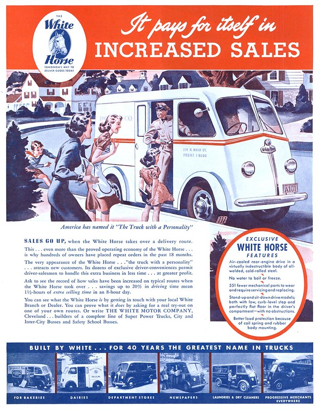 White Motor Company - published in The Saturday Evening Post - November 16, 1940
