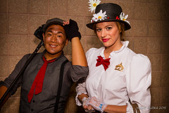 Tampa Bay Comic-Con 2015 Cosplay - MARY POPPINS & BERT THE CHIMNEY SWEEP
