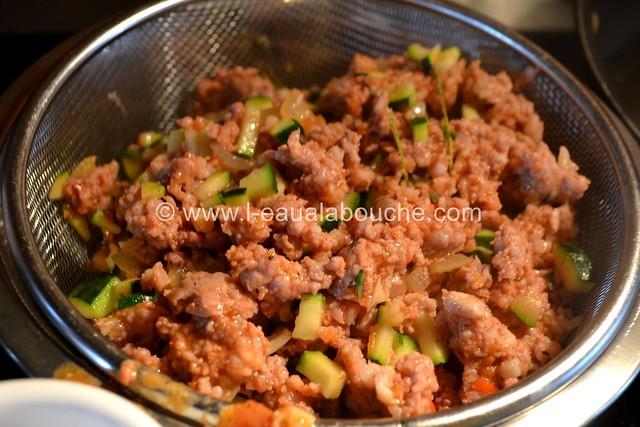 Cannelloni au Porc et aux Courgettes © Ana Luthi Tous droits réservés 007
