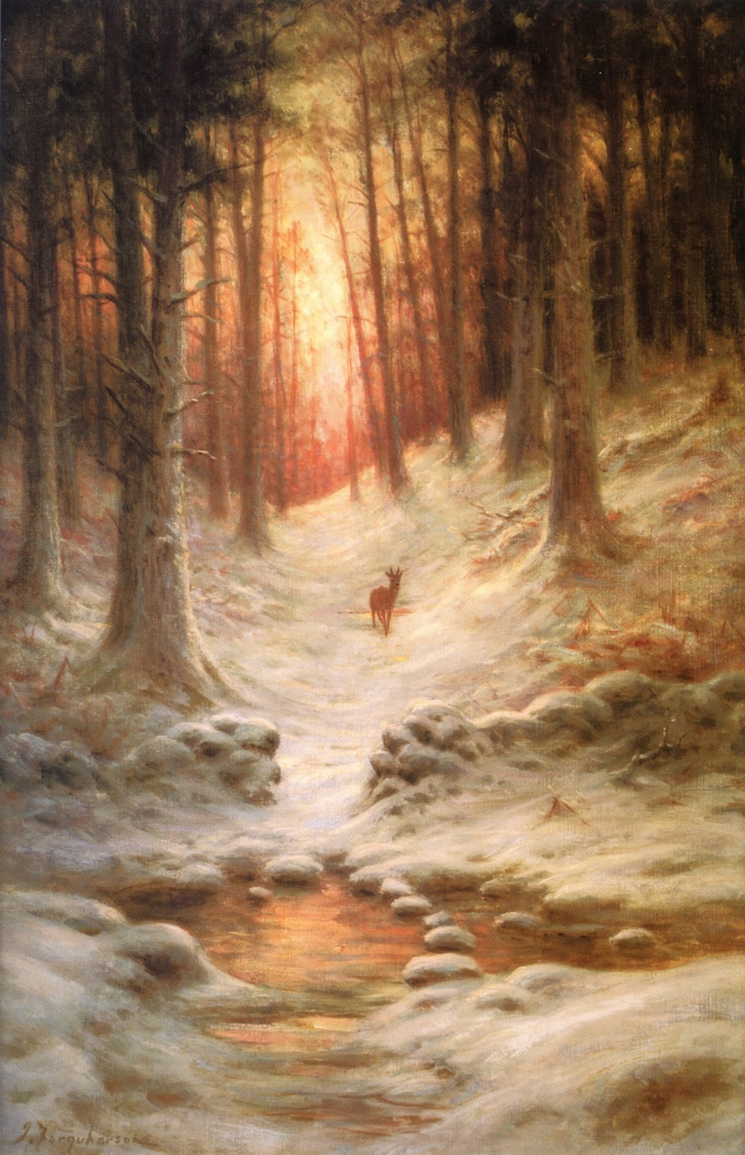 In Deep Mid Winter by Joseph Farquharson
