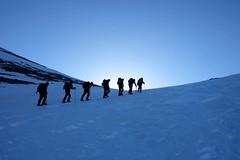 Trekking around the Toubkal