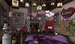 Valentine's Day- Red & Purple Passion
