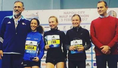 Vrabcová-Nývltová vyhrála půlmaraton v Neapoli za 1:11,54