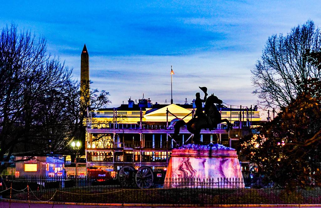 Photo Friday: Lafayette Square, Washington, DC USA