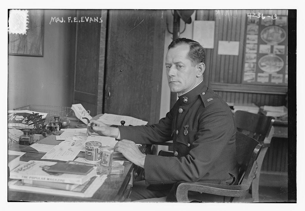 Maj. F.E. Evans (LOC)