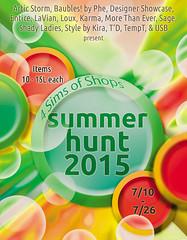 Poster - Summer Hunt 2015