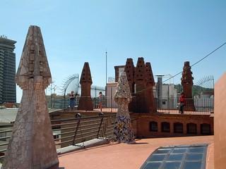 Imagen de Palacio Güell cerca de Ciutat Vella. barcelona