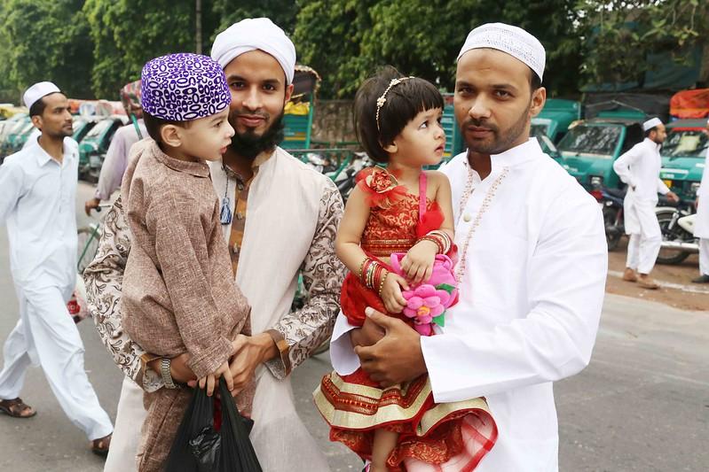 City Faith - Spotting Muslim Women, Eid al-Fitr, Turkman Gate