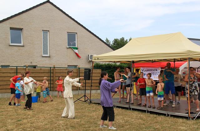 Buurtfeest 2015 - De Vier Vaantjes Leuven