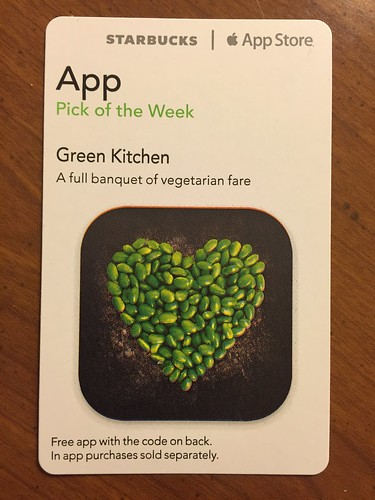 Starbucks iTunes Pick of the Week - Green Kitchen