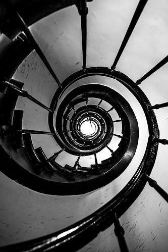 Stairway, Passage Vivienne, quart