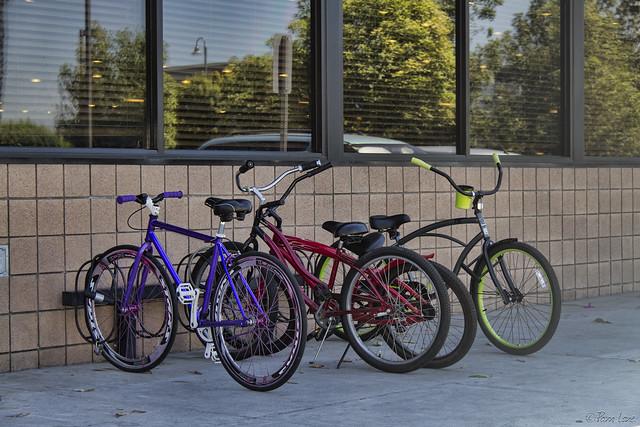 Hometown Buffet bikes