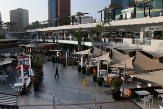 Larcomar Shopping Center.  Lima, Peru.