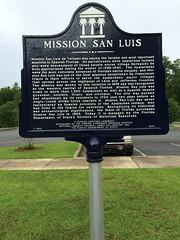 Mission San Luis Marker