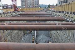 U District Station excavation