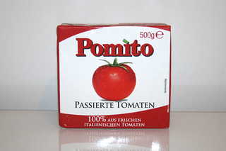 08 - Zutat passierte Tomaten / Ingredient sieved tomatoes