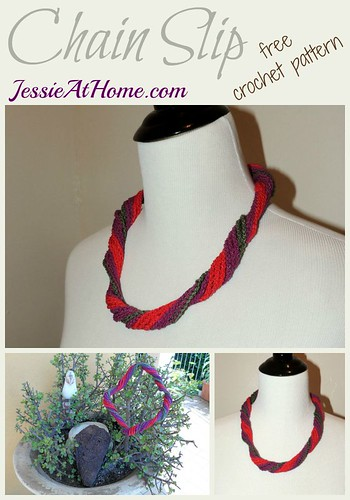 Chain Slip ~ free crochet pattern by Jessie At Home