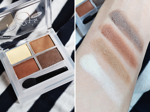 Rucy's Vanity Quad Eyeshadow Review, Photos, Swatches