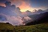 Sunset at Mountain Hehuan 合歡夕景