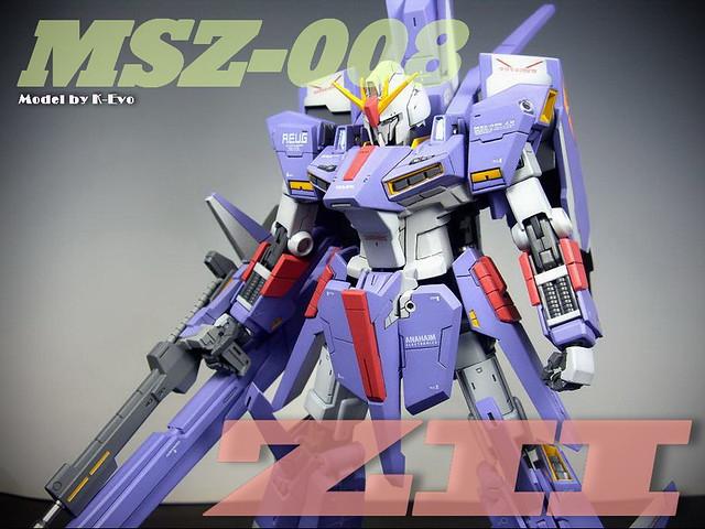 【玩具人K-Evo投稿】GMG ZII改造組裝分享