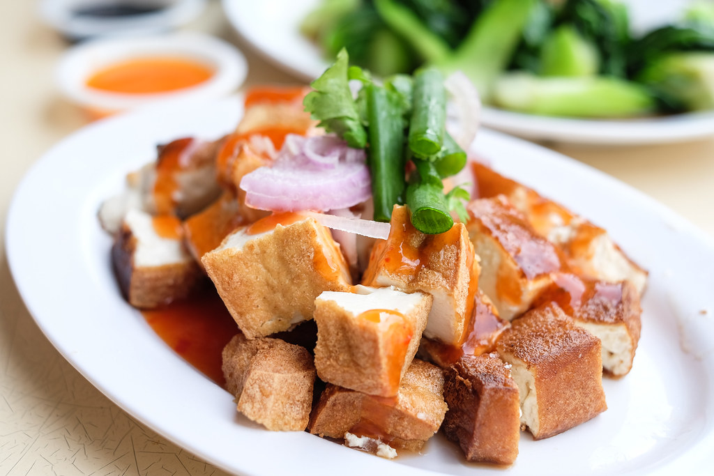 Sweet and Sour Tofu @ Ah Boy Chicken Rice