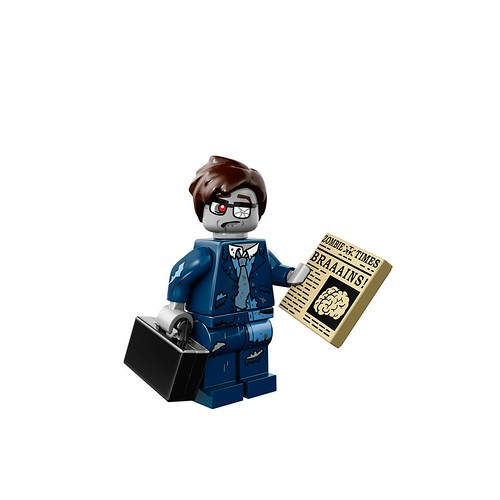 Minifigures serie 14 - Zombie Businessman