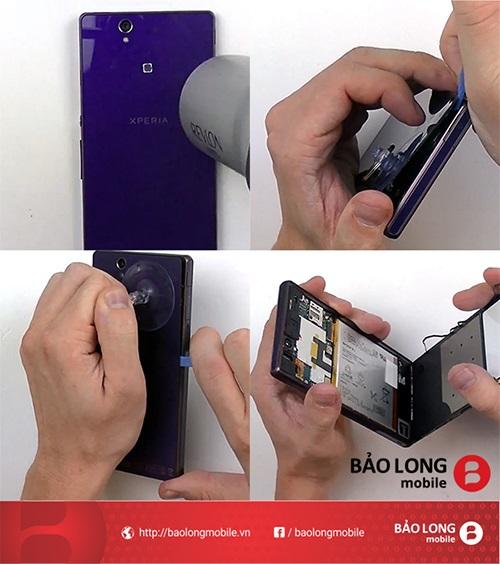Quy trình thay màn hình cho Sony Xperia Z1