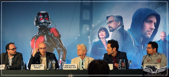 The Establishing Shot: PEYTON REED TALKS EDGAR WRIGHT'S CONTRIBUTION TO ANT-MAN @ THE ANT-MAN EUROPEAN PRESS CONFERENCE - CORINTHIA HOTEL LONDON
