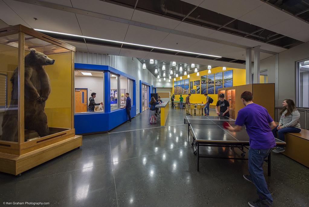 Kodiak High School Alaska Engineers Planning Design